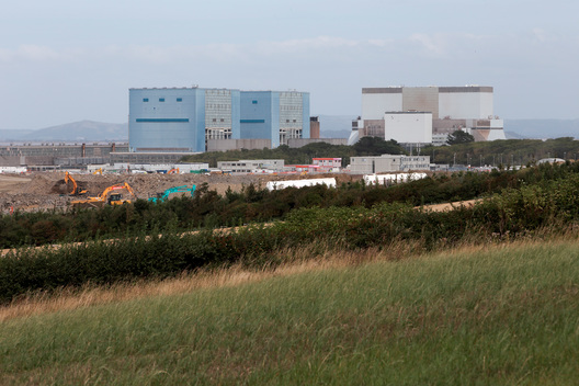 Hinkley Point Nuclear Power Station in UK