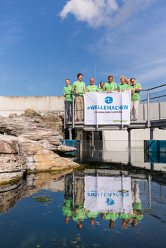 Plastics Action Day at the Ozeaneum in Stralsund