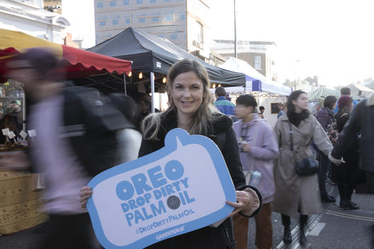 Tell Oreo to Drop Dirty Palm Oil Campaign Event in London