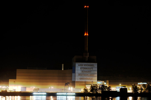 Projection on Krummel Nuclear Power Plant