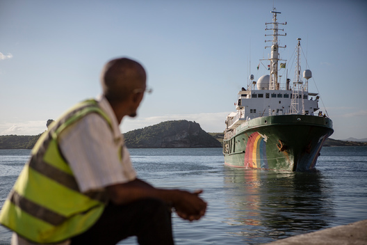 Esperanza Departs from Madagascar