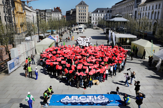 'I Love Arctic' Day of Action in Belgium