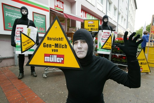 Action against GE Mueller Milk in Hannover