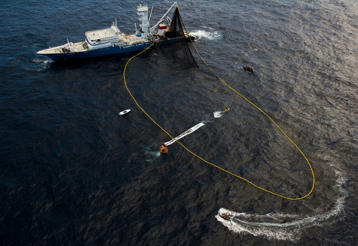 Action against the Biggest Tuna Fishing Vessel in the Pacific