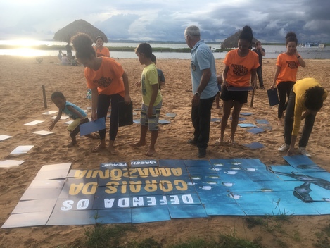 World Amazon Reef Day in Palmas, Brazil