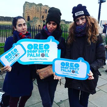 Tell Oreo to Drop Dirty Palm Oil Campaign in Newcastle