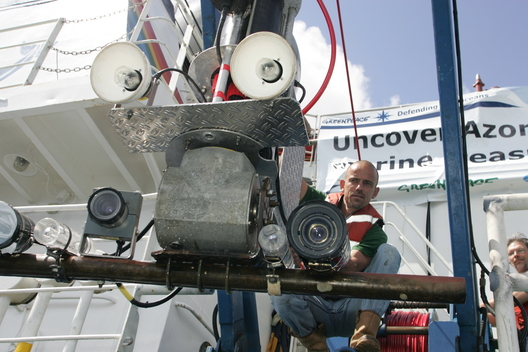 Launching Camera System - Azores Deep Sea Life
