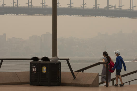 Smoke Haze in Sydney, NSW