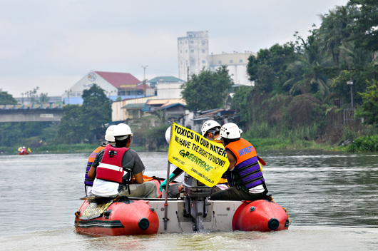 Water Patrol Expedition in Philippines