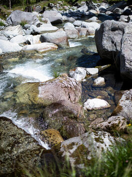 Summer in Switzerland: Maggia River Valley, Ticino