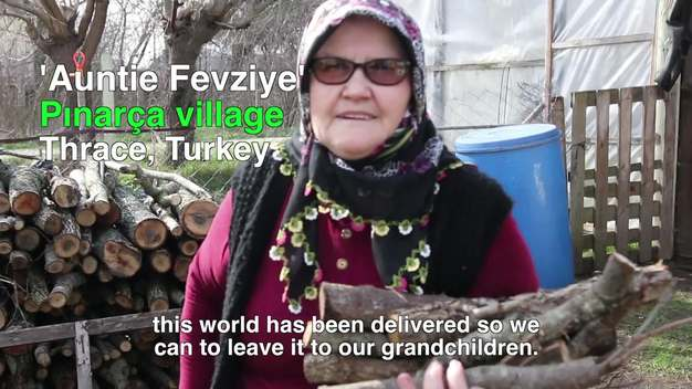 Auntie Fevziye in Pınarça, Turkey - Web Video (English version)