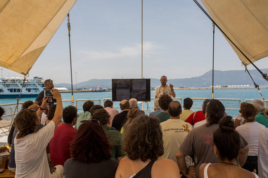 Rainbow Warrior United for Climate Tour - Corfu, Greece
