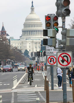 Week One of Virus Shut Down in the Streets of Washington DC