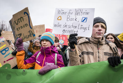 Demonstration and Student Strike for More Climate Protection in Berlin