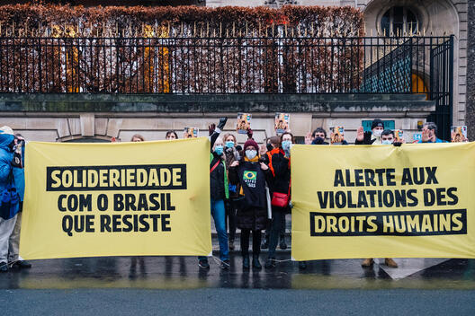 Human Rights in Brazil 2020 Report Release in Paris