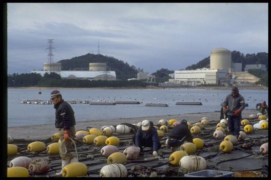 Mihama Nuclear Power Plant in Japan