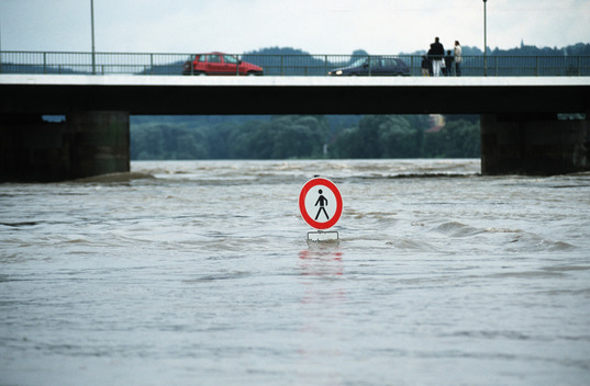 Flooding in Passau in Germany