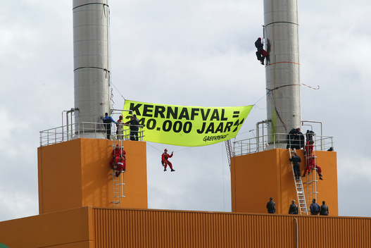Nuclear Action at Covra in Vlissingen