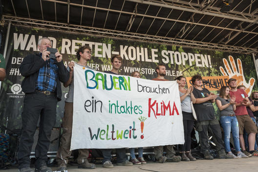 Demonstration for Climate Protection and Hambach Forest