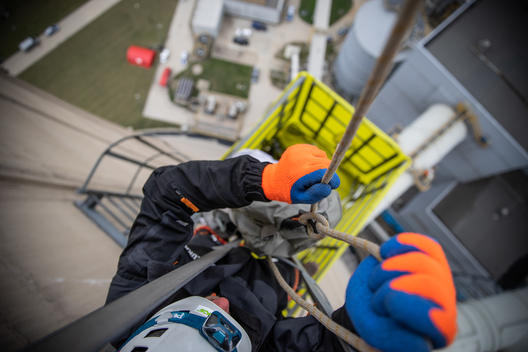 Activists Climb Belchatow Coal Power Plant in Poland