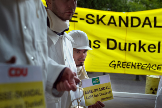 Lower Saxon Landtag Nuclear Action in Hannover