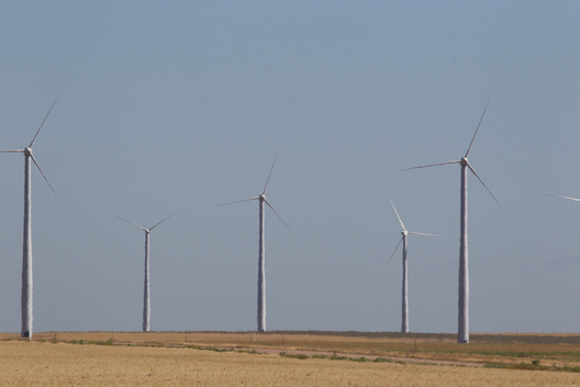 Gray County Wind Farm in Kansas