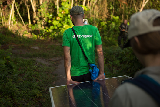 Solar Panels in the Amazon