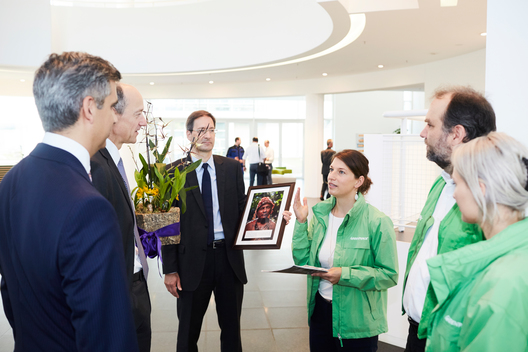 Inauguration of Siemens' New Headquarters in Munich
