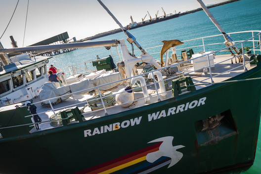 Rainbow Warrior in Mackay