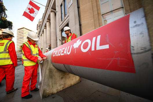 Crudeau Oil Action in London