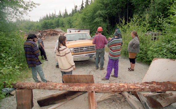 Clayoquot Sound Blockade Action