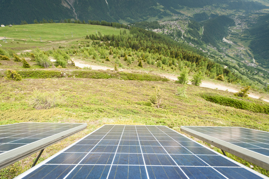 Solar System Installation in Bellwald