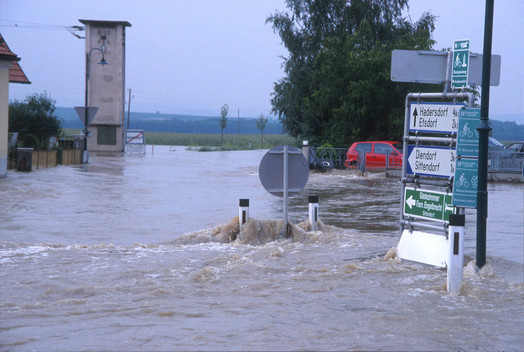 Flooding in Austria