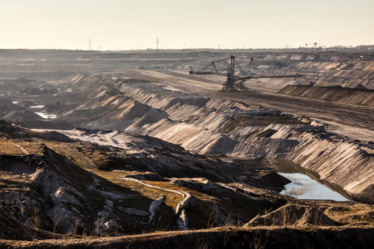 Lignite Mine near Poedelwitz in Saxony