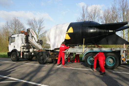 Nuclear Action Fake Bomb at Covra in Vlissingen