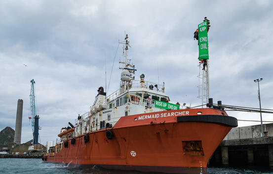 Occupation of Oil Vessel in New Zealand