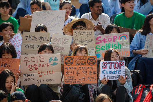 Fridays for Future Student Action in Seoul
