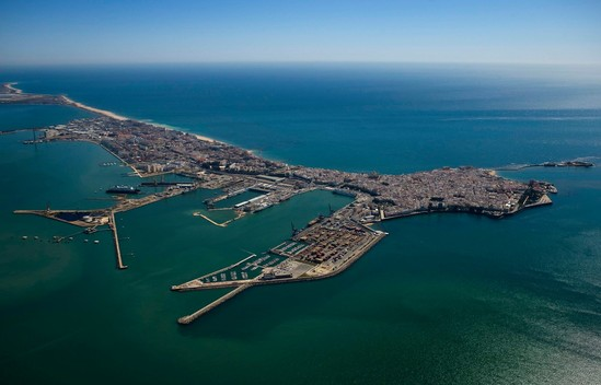 Coastal Development in Cadiz, Spain