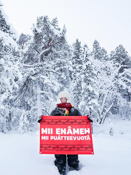 Sámi Reindeer Herders Oppose Railroad Construction in Finland