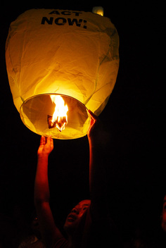 Save the Climate Lanterns in Bihar