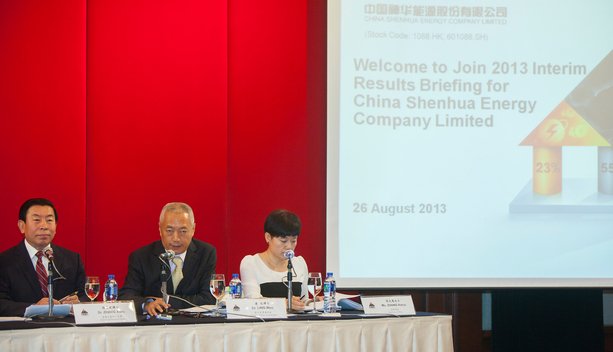 Action at Shenhua Energy Conference in Hong Kong