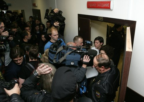 Denis Sinyakov Detention Hearing In St. Petersburg