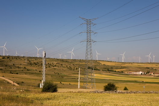 Wind Turbines and Electric Wires