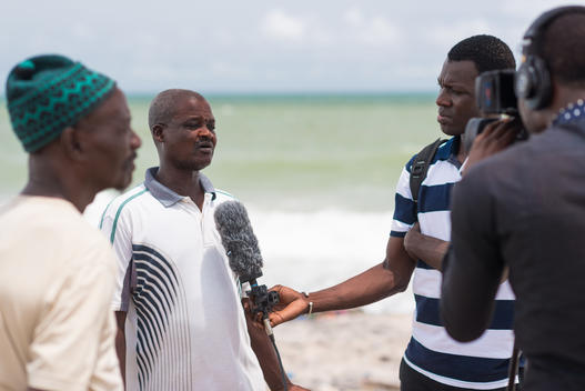 Fathers of Lost Fishermen in Senegal