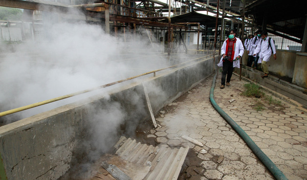 Toxic Wastewater Textile Companies Investigation in Sumedang