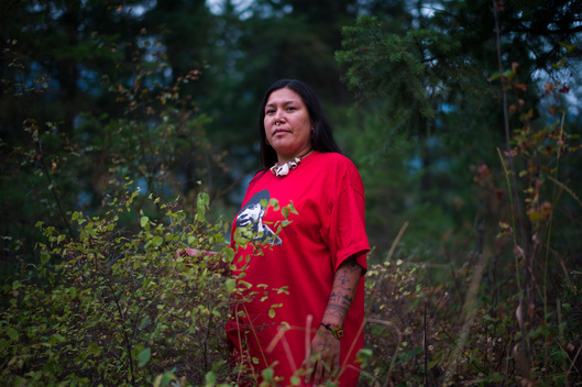 Kanahus Manuel, Activist from the Tiny House Warriors in Canada