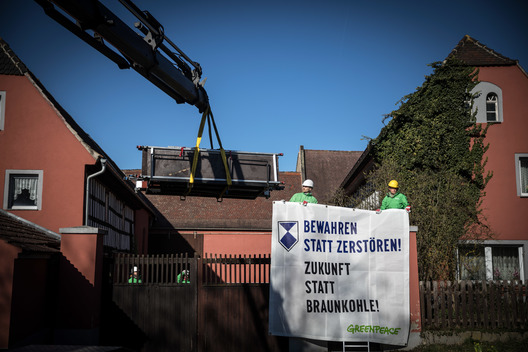 Activists Repair Houses Damaged by Mibrag in Saxony