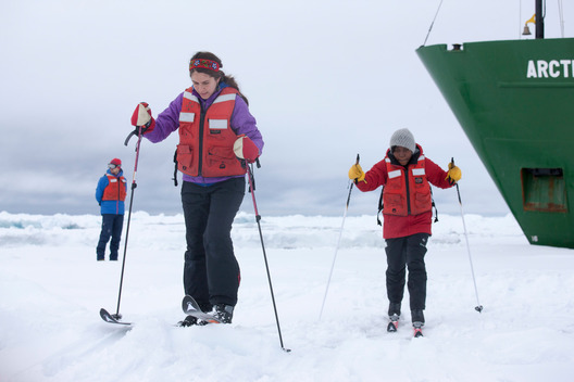 Girl Guides in the Arctic