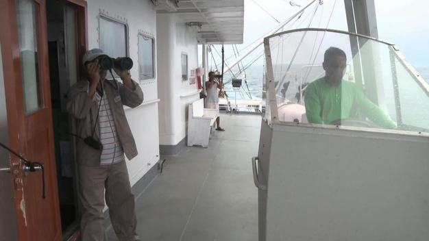 Searching For Fish Onboard Purse Seine Vessel