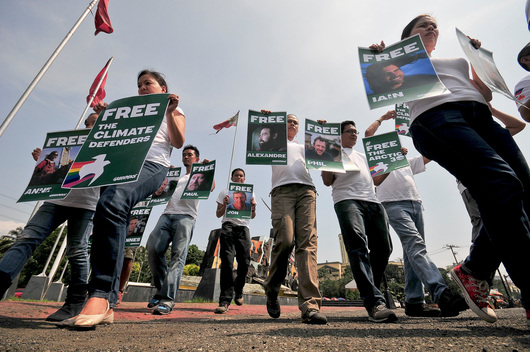'Arctic 30' Global Day of Solidarity in the Philippines